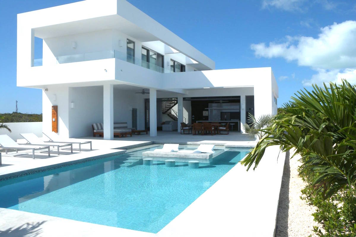 White Villa on Turks and Caicos