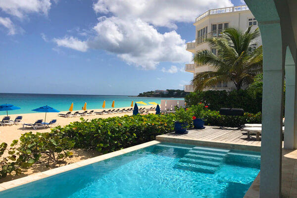 Meads Bay Beachfront, Anguilla villa